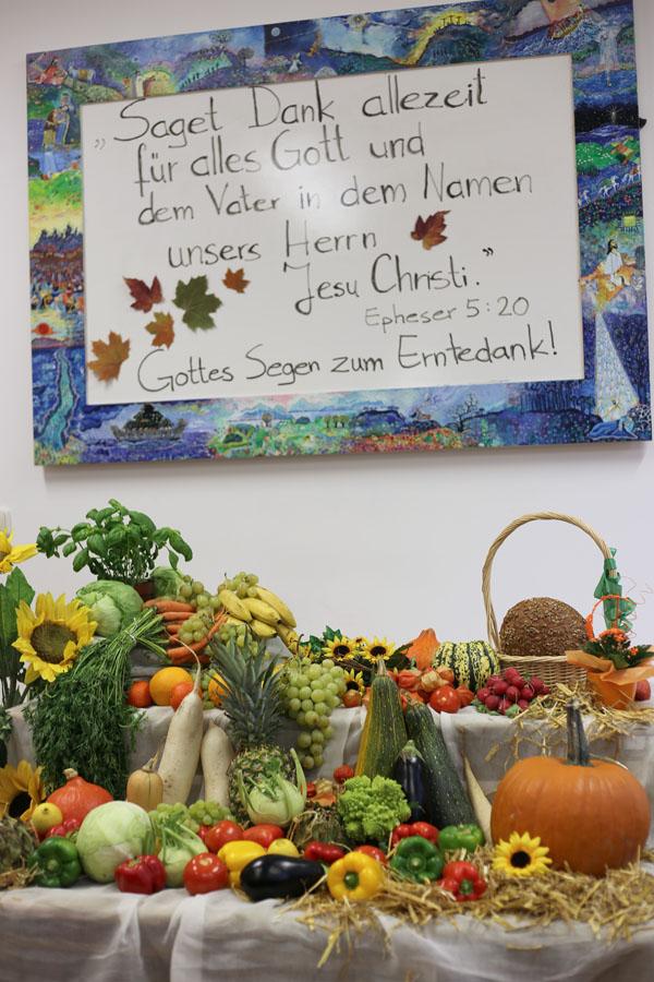 Erntedankgottesdienst Adentgemeinde München