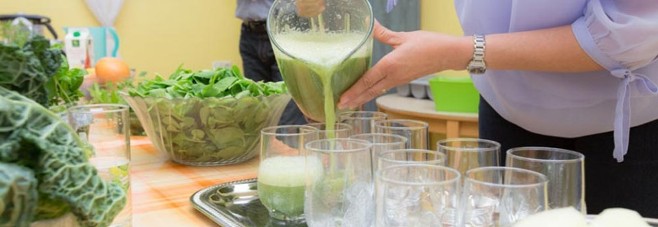 Sendlinger Kochkurs zum Thema: Grüne Smoothie